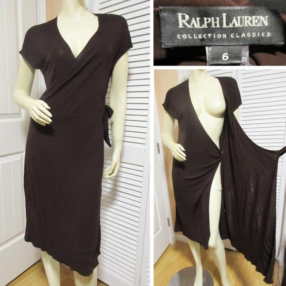 clearance prices sale official images Ralph Lauren Black Label Dresses   Womens Sheath Wrap Dress   Poshmark